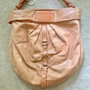 Marc by Marc Jacobs Leather Hobo Bag - Large